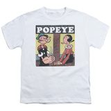 Youth: Popeye- Loves Olive T-shirts