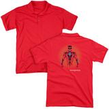 Polo: Power Rangers- Prismatic Red Ranger (Back Print) T-shirts