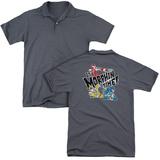 Polo: Power Rangers: Ninja Steel- Morphin Panels (Back Print) T-Shirt