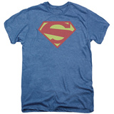 Superman- Man Of Steel Shield (Premium) T-shirts