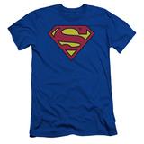 Superman- Classic Logo Slim Fit T-Shirt