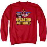 Crewneck Sweatshirt: Power Rangers- Megazord Activated Shirts