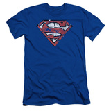 Superman- Ripped And Shredded Slim Fit T-shirts