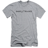 Superman- Daily Planet Logo Slim Fit T-shirts