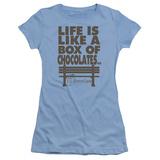 Juniors: Forrest Gump- Life T-shirts