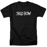 Skid Row- Distressed Raw Logo Shirts