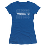 Juniors: Warehouse 13- Blueprint Logo T-Shirt