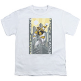 Youth: Power Rangers- White Ranger Deco T-Shirt