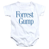 Infant: Forrest Gump- Logo Onesie Infant Onesie