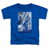 Toddler: Power Rangers- Blue Ranger Deco Shirt