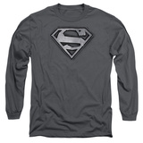 Long Sleeve: Superman- Duct Tape Shield Long Sleeves