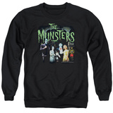 Crewneck Sweatshirt: The Munsters- 1313 50 Years T-Shirt