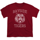 Youth: Saved By The Bell- Bayside Tigers Emblem T-Shirt