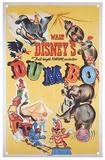 Dumbo - Classic Film Poster Blechschild
