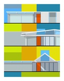 California Eichler Posters by Michael Murphy
