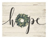Hope Wreath Prints by Jo Moulton
