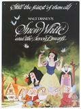 Snow White - Classic Film Poster Tin Sign