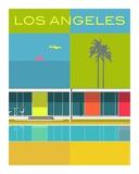 Elwoods LA Plakater af Michael Murphy
