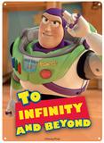 Toy Story - Buzz Lightyear Blechschild