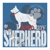 Shepherd Prints by Kathy Middlebrook