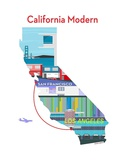 California Modern Print by Michael Murphy