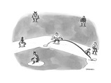 Opening Day - Cartoon Premium Giclee Print by Pat Byrnes
