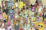 Rick And Morty - Group Prints
