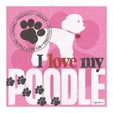 Poodle Prints by Kathy Middlebrook