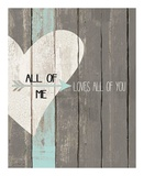 All of Me 2 Prints by Jo Moulton