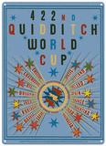 Harry Potter - Quidditch World Cup Blechschild