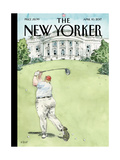 The New Yorker Cover - April 10, 2017 Regular Giclee Print by Barry Blitt