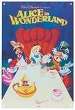 Alice in Wonderland - Classic Film Poster Blechschild