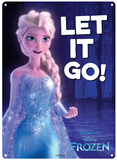 Frozen - Let it Go Blikskilt