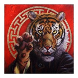 Legend of Tiger Claw Print by Lucia Heffernan