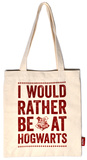 Harry Potter - Rather Be At Hogwarts Tote Bag Indkøbstaske