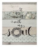 Well with My Soul Posters by Jo Moulton