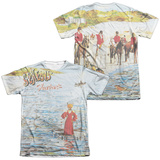 Genesis- Foxtrot Cover (Front/Back) T-Shirt
