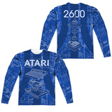 Long Sleeve: Atari- Game Machine (Front/Back) Sublimated