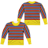 Long Sleeve: Sesame Street- Ernie Costume Tee (Front/Back) Sublimated