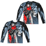 Long Sleeve: Batman- Nice Shot (Front/Back) T-shirts