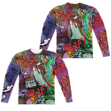 Long Sleeve: Suicide Squad- Diablo Psychedelic Graffiti (Front/Back) Sublimated