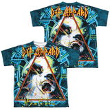 Youth: Def Leppard- Hysteria (Front/Back) T-shirts