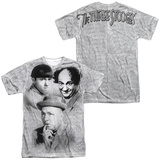 Three Stooges- Signature (Front/Back) Shirt