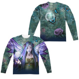 Long Sleeve: Anne Stokes- Mystic Aura (Front/Back) Sublimated