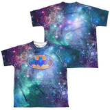 Youth: Batman- Galaxy Symbol (Front/Back) T-Shirt