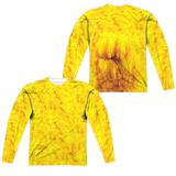 Long Sleeve: Sesame Street- Big Bird Costume Tee (Front/Back) Sublimated