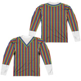 Long Sleeve: Sesame Street- Bert Costume Tee (Front/Back) Sublimated
