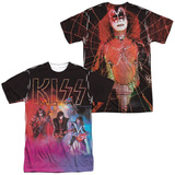 Kiss- Colored Smoke (Front/Back) T-shirts