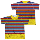 Youth: Sesame Street- Ernie Costume Tee (Front/Back) T-shirts