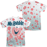 Mr Bubble- Clean Sweep (Front/Back) T-shirts